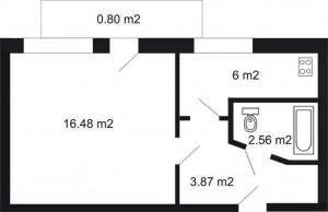 1 istabu