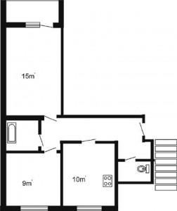 2 istabu 2 variants