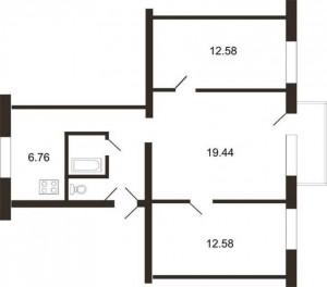 3 istabu